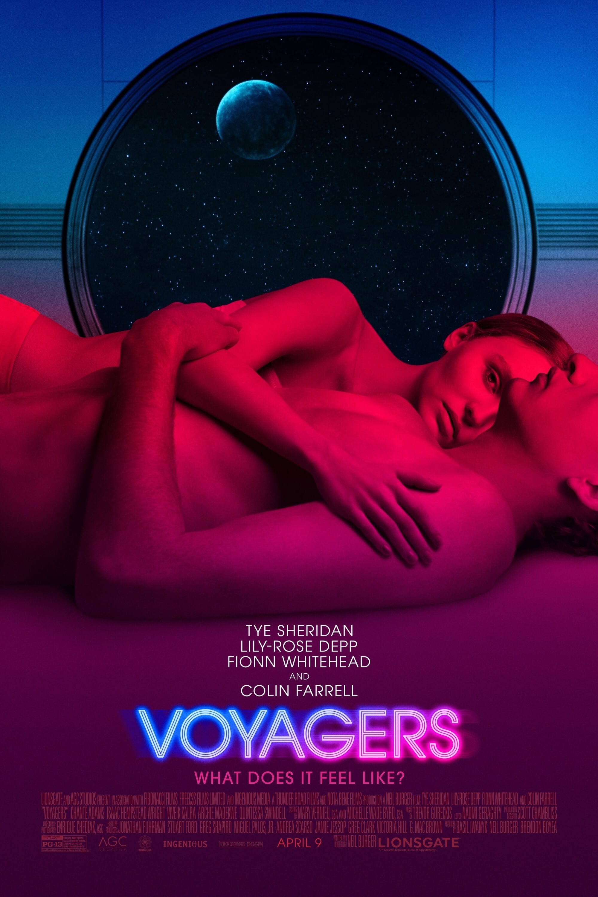 Voyagers (2D) Poster