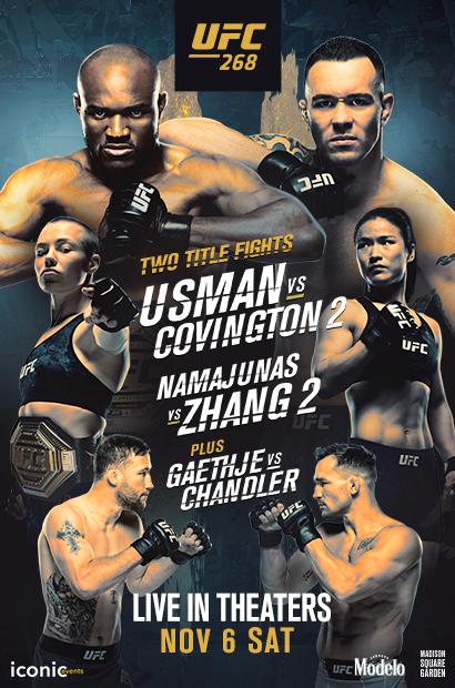 UFC 268: Usman vs. Covington 2